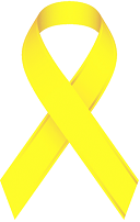This image has an empty alt attribute; its file name is yellow-ribbon.png
